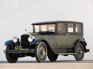 обои Packard Six 5-passenger Sedan 1927 спередиjpg фото