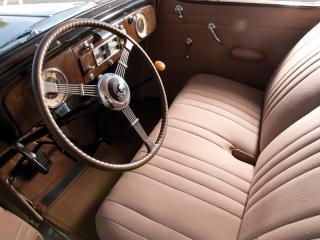 обои Packard Six Coupe 1937 руль фото