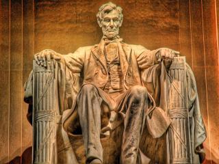 обои для рабочего стола: Монумент Линкольну