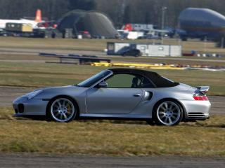 обои 9ff 911 Turbo Cabriolet (996) сбоку фото