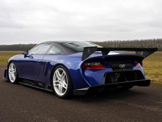 обои 9ff GT9-R 2009 зад фото