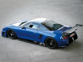 обои 9ff GT9-R 2009 сверху фото