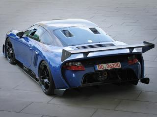 обои 9ff GT9-R 2009 сзади фото