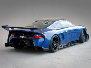 обои 9ff GT9-R 2009 синий фото