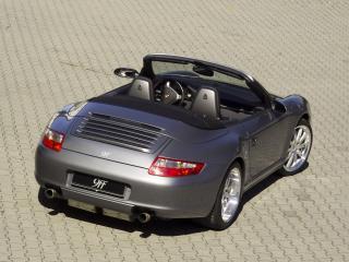 обои 9ff Porsche 911 Carrera Cabriolet (997) без крыши фото