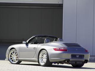 обои 9ff Porsche 911 Carrera Cabriolet (997) сзади фото