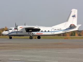 обои АН-24 готов к полету фото