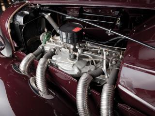 обои Auburn 852 SC Convertible Coupe мотор фото