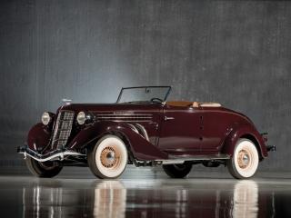 обои Auburn 852 SC Convertible Coupe спереди фото