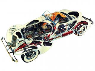 обои Auburn 852 SC Speedster ренген фото