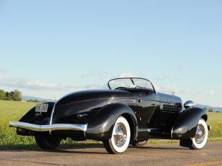 обои Auburn 852 SC Speedster черный фото