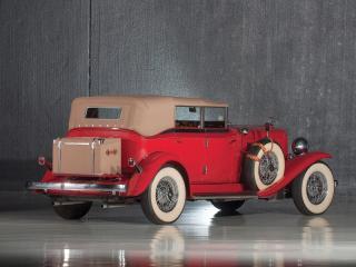 обои Auburn Custom Twelve Phaeton Sedan зад фото