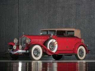обои Auburn Custom Twelve Phaeton Sedan передок фото