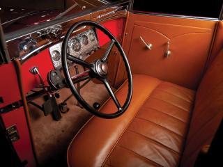обои Auburn Custom Twelve Phaeton Sedan руль фото