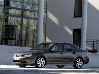 обои Saab 9-3 Sport Sedan Aero Performance by Hirsch бок фото