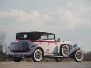 обои Auburn Twelve Convertible Sedan сзади бокои фото