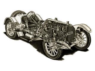 обои Mercer Type 35 Raceabout ренген фото