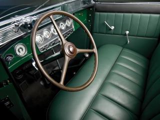 обои Auburn Twelve Phaeton Sedan (1250) 1934 руль фото