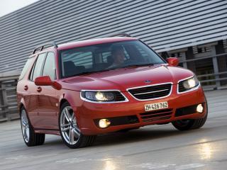 обои Saab 9-5 SportCombi Aero Performance by Hirsch красивый фото