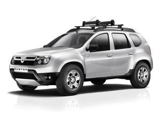 обои Dacia Duster ESF 2011 боком фото