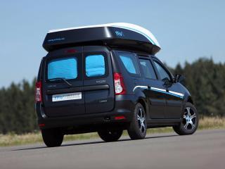обои Dacia Logan MCV YAV III Prototype зад фото