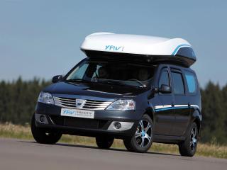 обои Dacia Logan MCV YAV III Prototype спереди фото