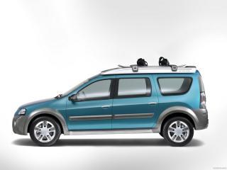 обои Dacia Logan Steppe Concept бок фото