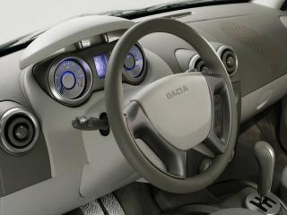 обои Dacia Logan Steppe Concept руль фото