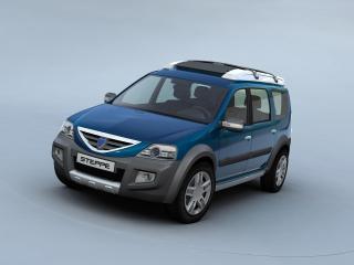обои Dacia Logan Steppe Concept спереди фото