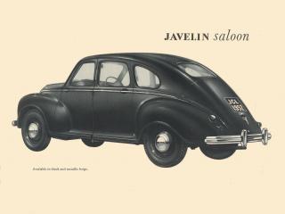 обои Jowett Javelin рекламка фото