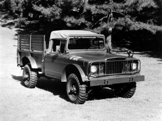обои Kaiser Jeep M715 Military Truck передок фото