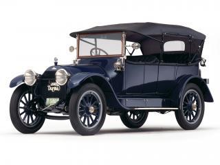 обои для рабочего стола: Stevens-Duryea Model C 5-passenger Touring боком