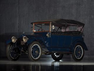 обои Stevens-Duryea Model C 5-passenger Touring синий фото