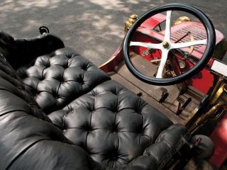 обои Stanley Model E Runabout руль фото