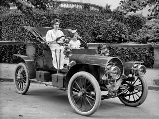 обои Franklin Model D Roadster 1907 спереди фото