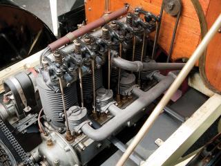 обои Franklin Model G Touring 1906 мотор фото