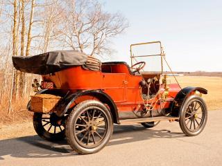 обои Franklin Model G Touring 1910 сзади фото