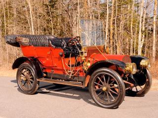 обои Franklin Model G Touring 1910 спереди фото