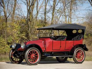 обои Franklin Series 6 Touring 1914 бок фото