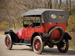 обои Franklin Series 6 Touring 1914 зад фото
