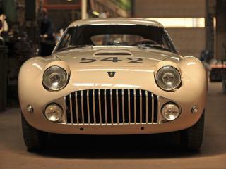 обои Siata 208 CS Stabilimenti Farina Berlinetta передок фото