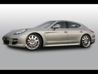 обои Cargraphic Porsche Panamera Power Pack бок фото