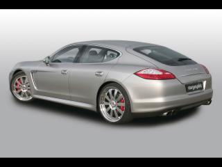 обои Cargraphic Porsche Panamera Power Pack боком фото