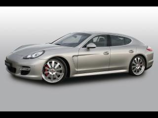 обои Cargraphic Porsche Panamera Power Pack серебристая фото