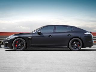обои TopCar Porsche Panamera Stingray на обочине фото