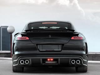 обои TopCar Porsche Panamera Stingray фары фото