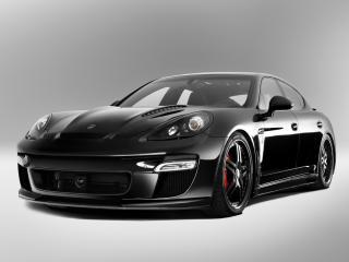 обои TopCar Porsche Panamera Stingray черный боком фото