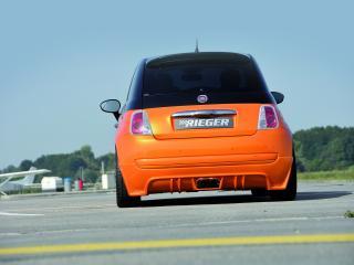 обои Rieger Fiat 500 зад фото