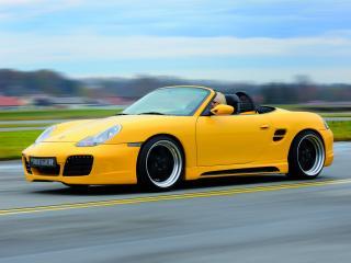 обои Rieger Porsche Boxster (986) мощь фото