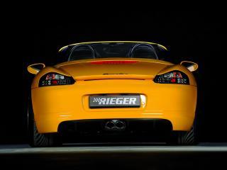 обои Rieger Porsche Boxster (986) сзади фото